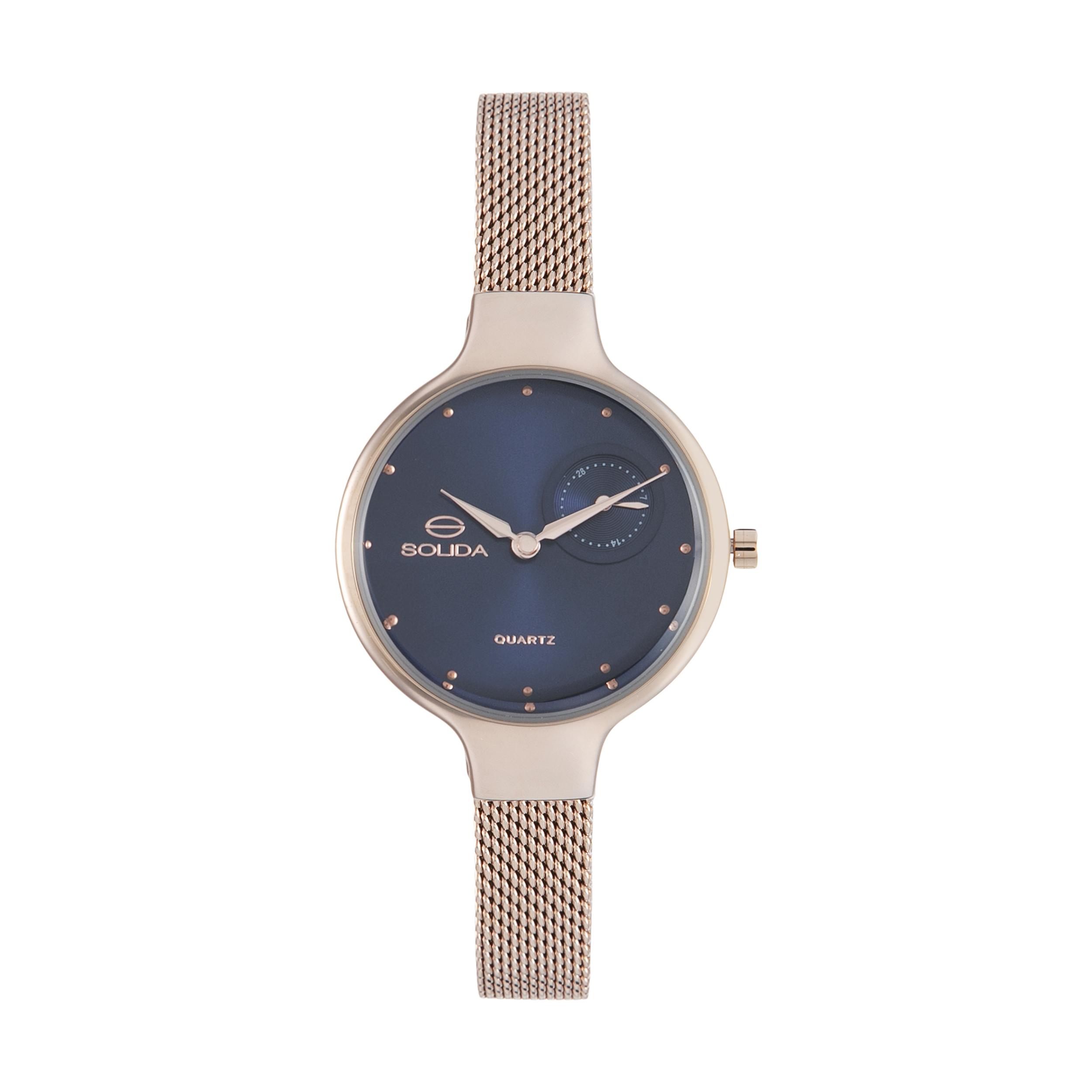 ساعت مچی عقربه ای زنانه سولیدا مدل 02 کد S1131L              ارزان