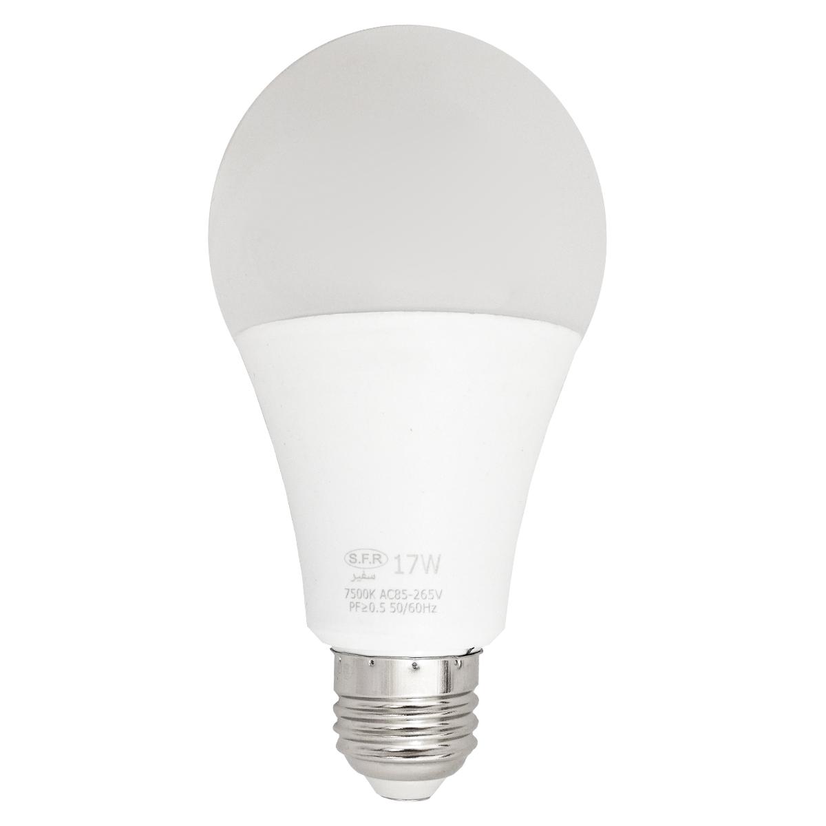 لامپ ال ای دی 17 وات سفیر مدل SFR90 پایه E27