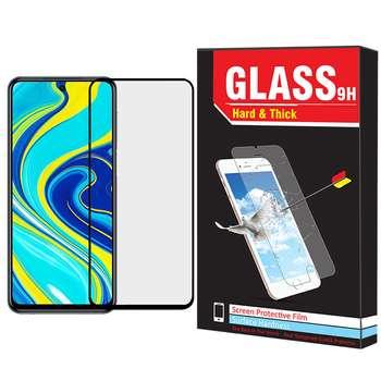 محافظ صفحه نمایش Hard and Thick مدل F-02 مناسب برای گوشی موبایل شیائومی Redmi Note 9s