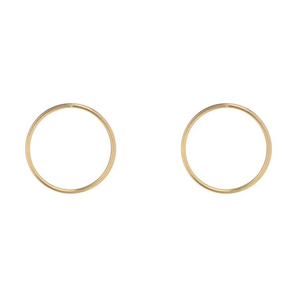 گوشواره طلا 18 عیار زنانه نیوانی مدل EA026