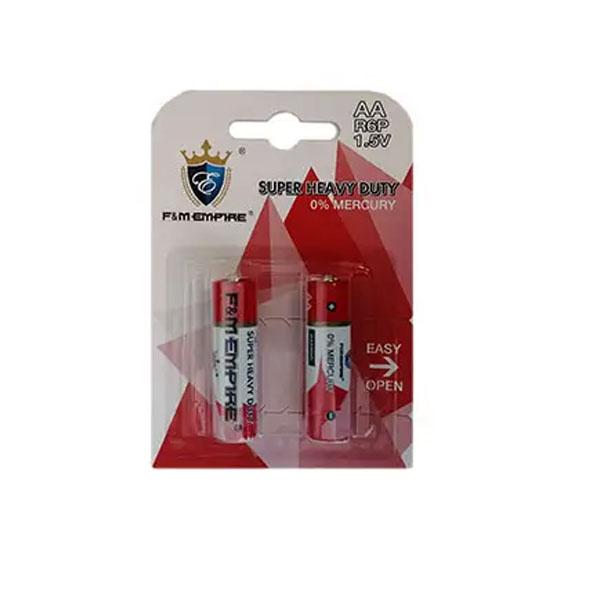 بررسی و {خرید با تخفیف} باتری قلمی امپایر کد 022 بسته 2 عددی اصل