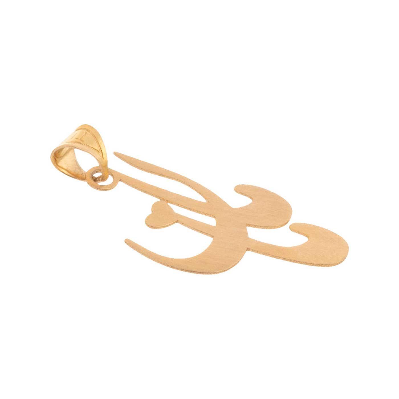آویز گردنبند طلا 18 عیار زنانه کانیار گالری کد PE15 -  - 1