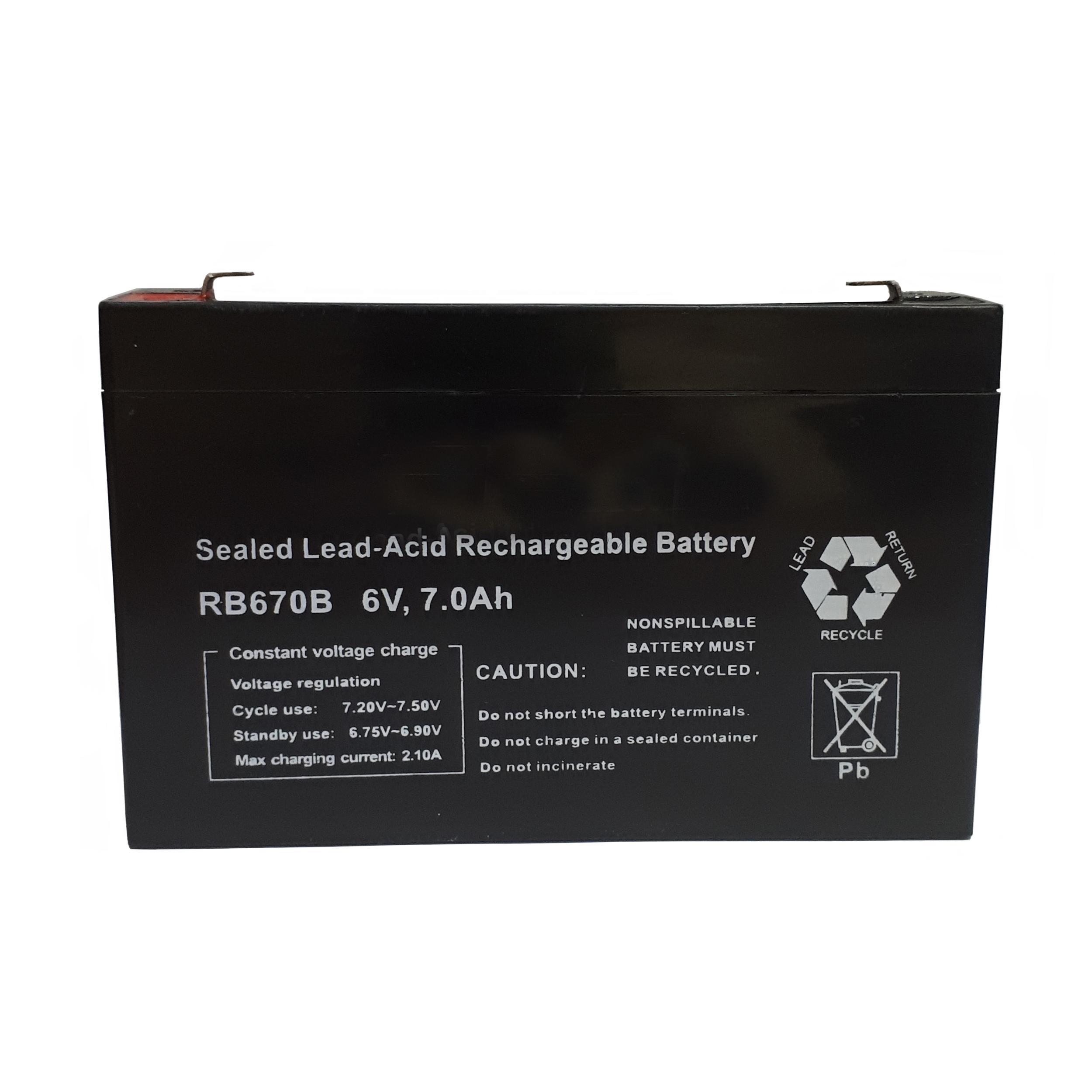 باتری سیلد اسید 6 ولت مدل NB-015