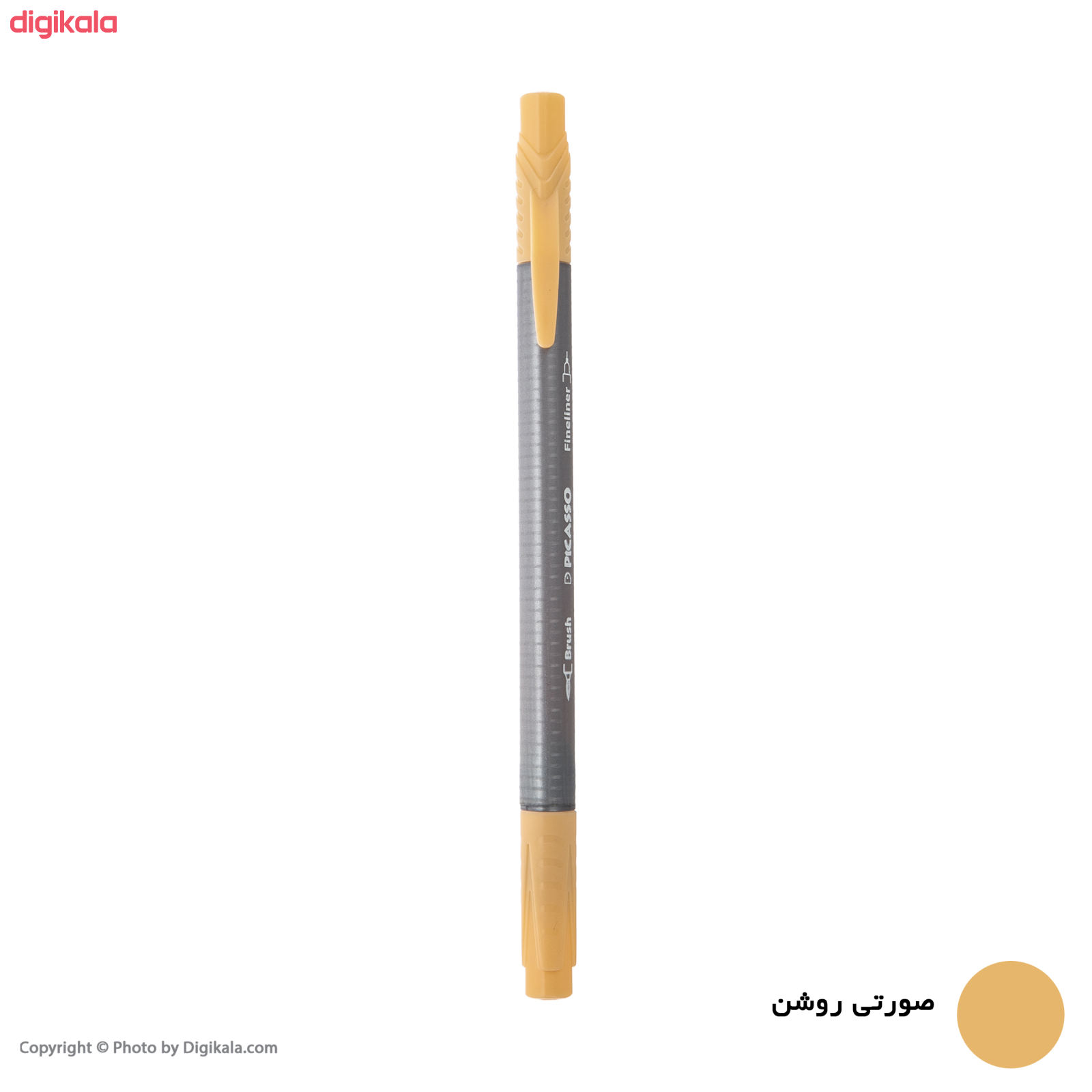 روان نویس پیکاسو مدل Brush Marker Fine Liner main 1 8