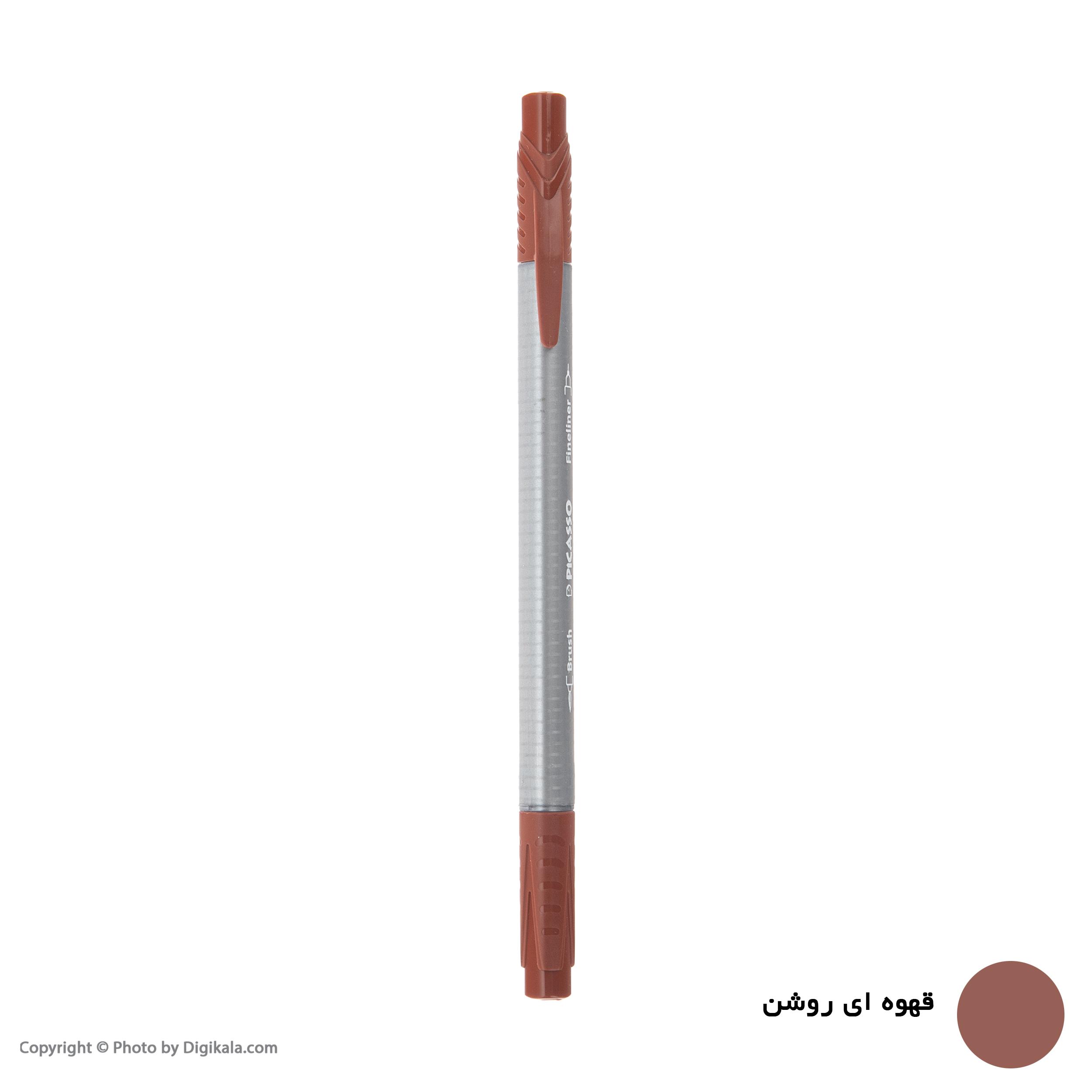 روان نویس پیکاسو مدل Brush Marker Fine Liner main 1 9