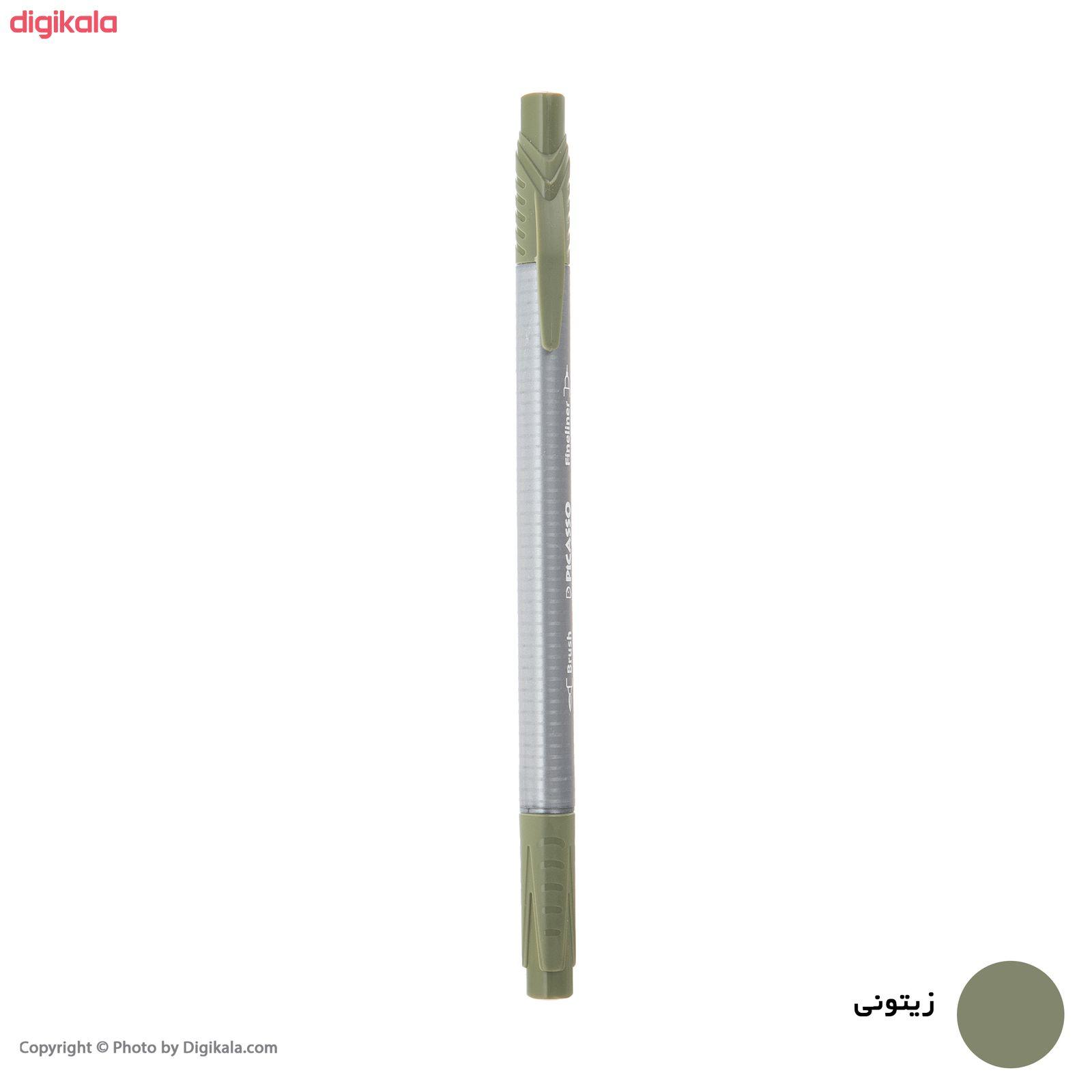 روان نویس پیکاسو مدل Brush Marker Fine Liner main 1 12