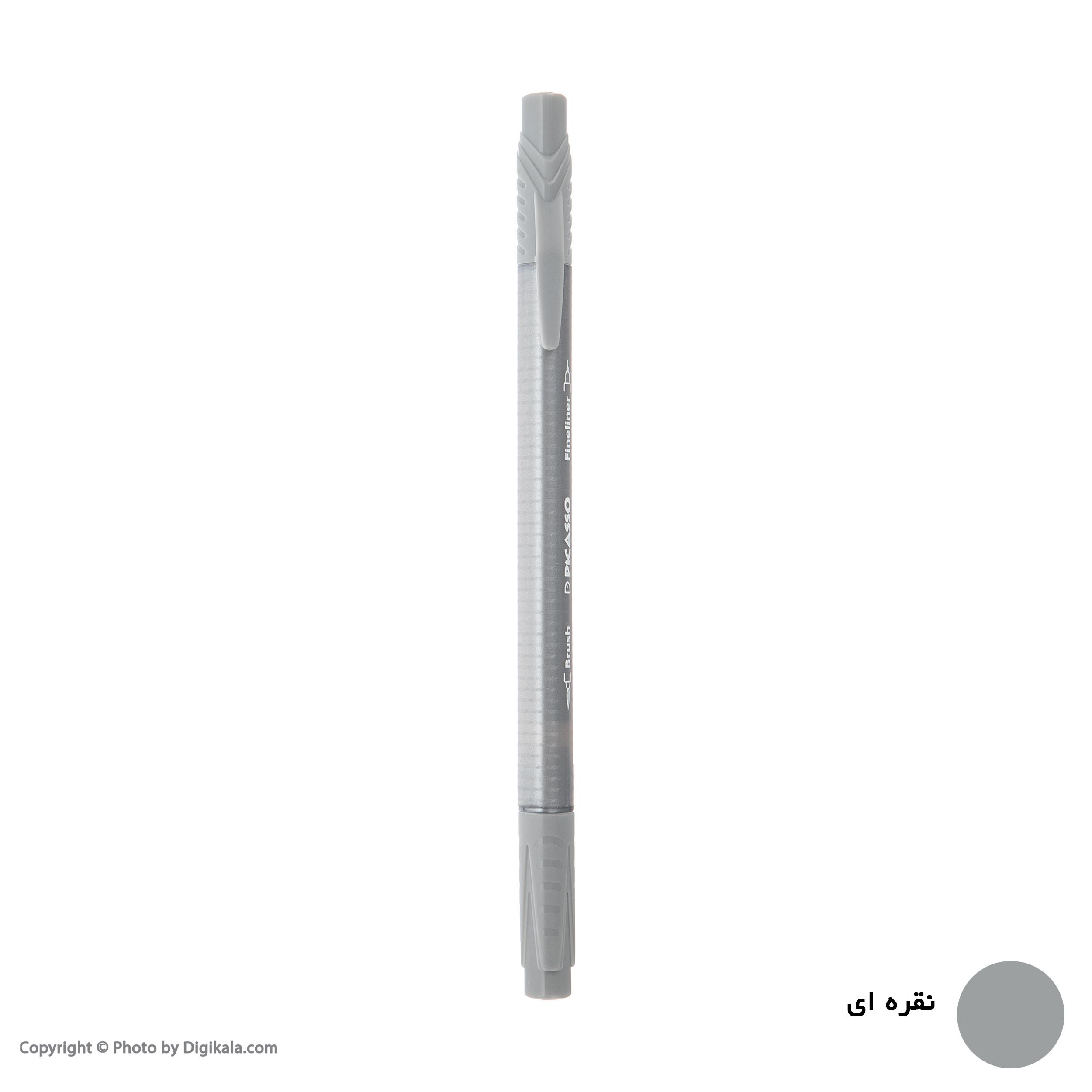 روان نویس پیکاسو مدل Brush Marker Fine Liner main 1 13