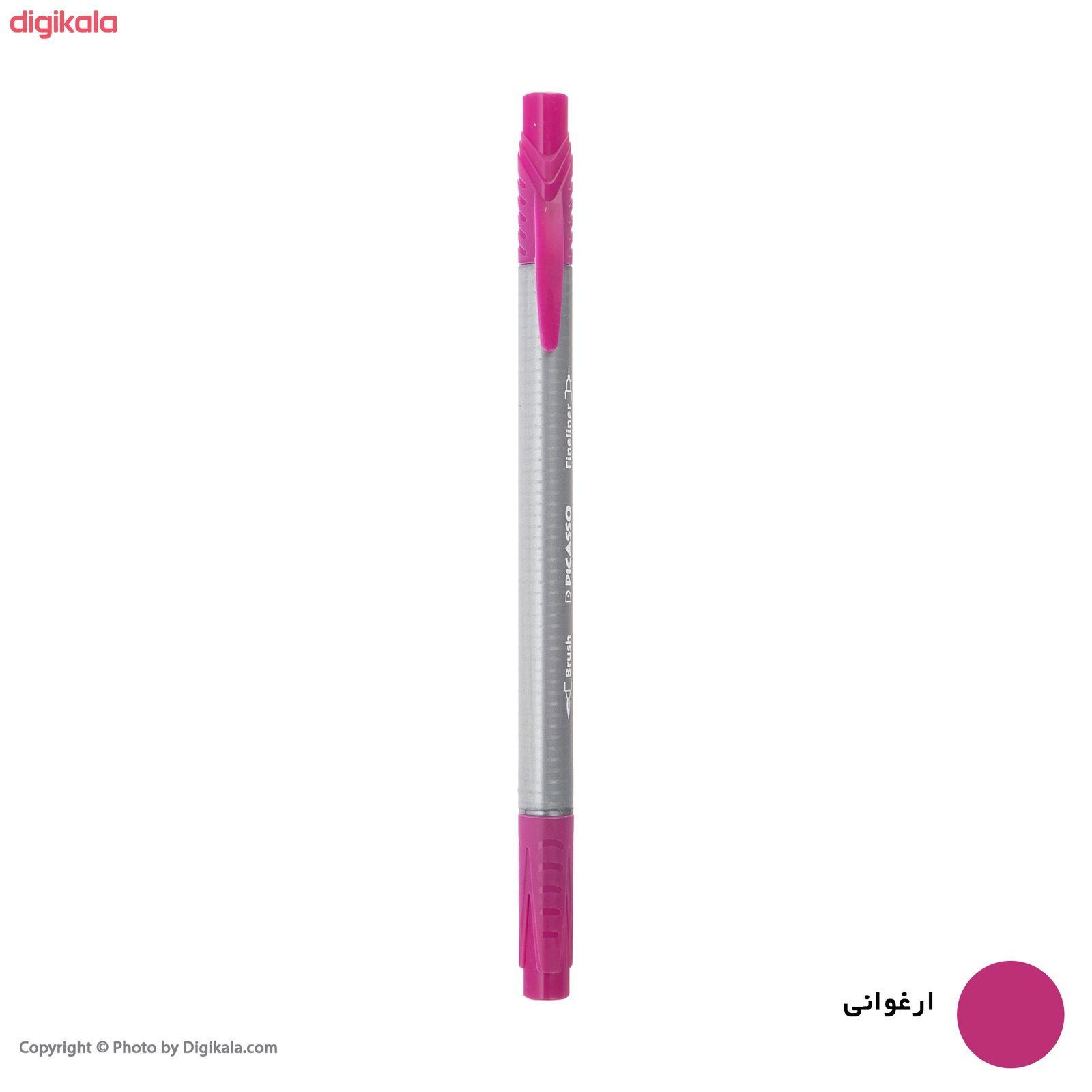 روان نویس پیکاسو مدل Brush Marker Fine Liner main 1 14