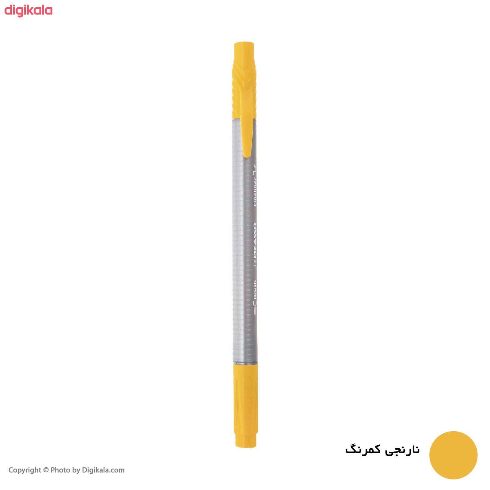 روان نویس پیکاسو مدل Brush Marker Fine Liner main 1 15