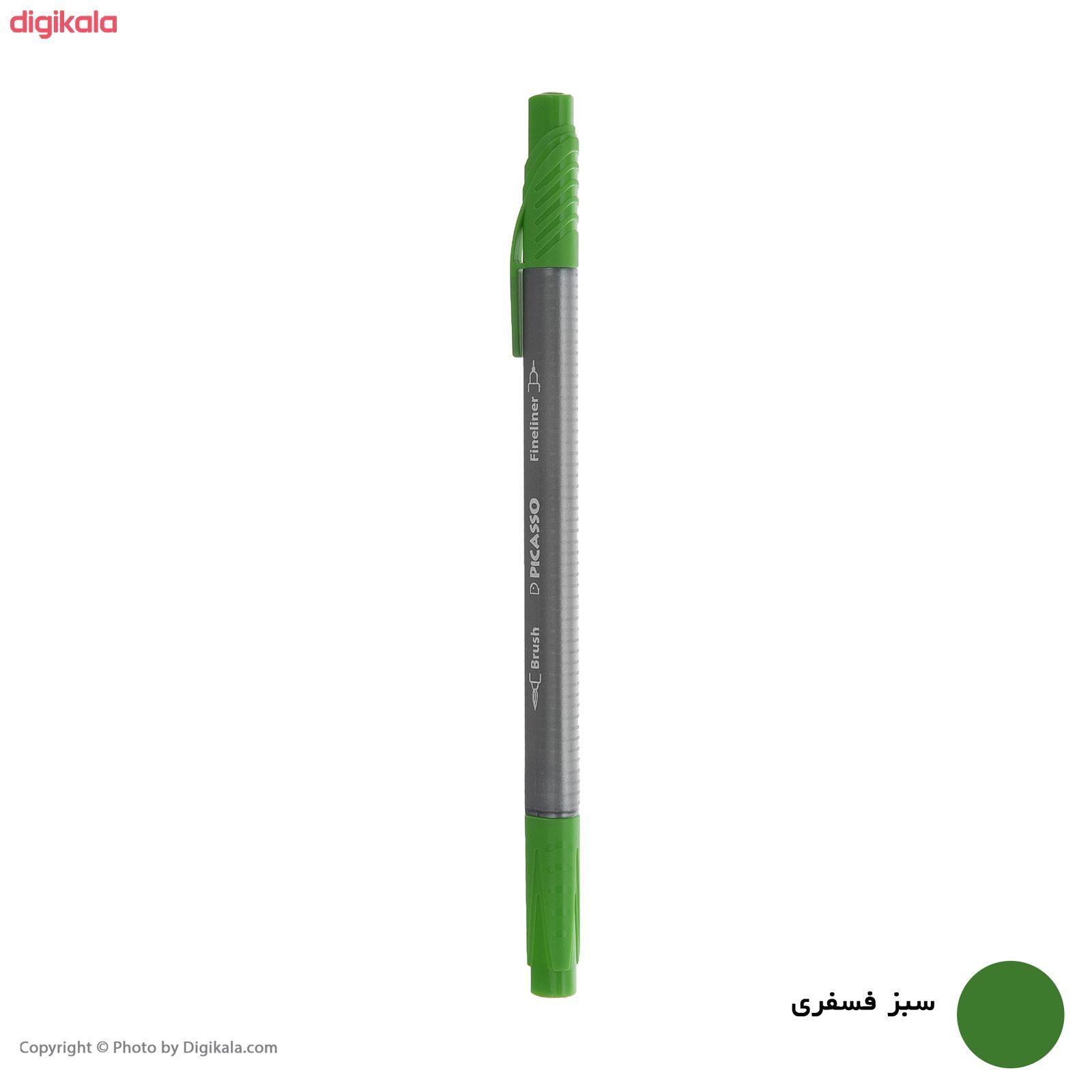 روان نویس پیکاسو مدل Brush Marker Fine Liner main 1 16