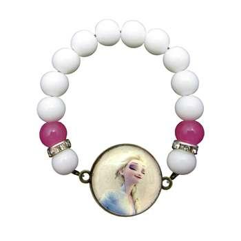 دستبند دخترانه طرح السا کد 071