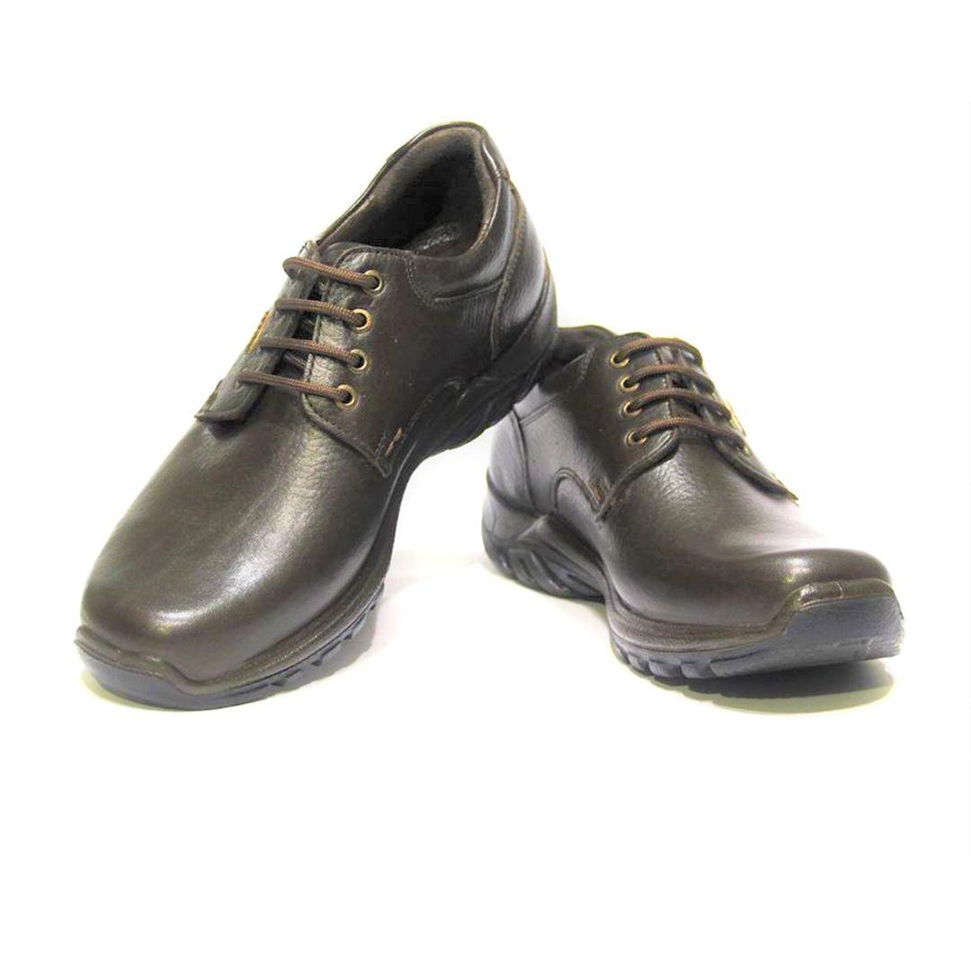کفش روزمره مردانه فرزین کد cbb011 رنگ قهوه ای -  - 1