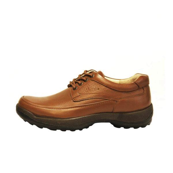 کفش روزمره مردانه فرزین کد mbw003 رنگ گردویی