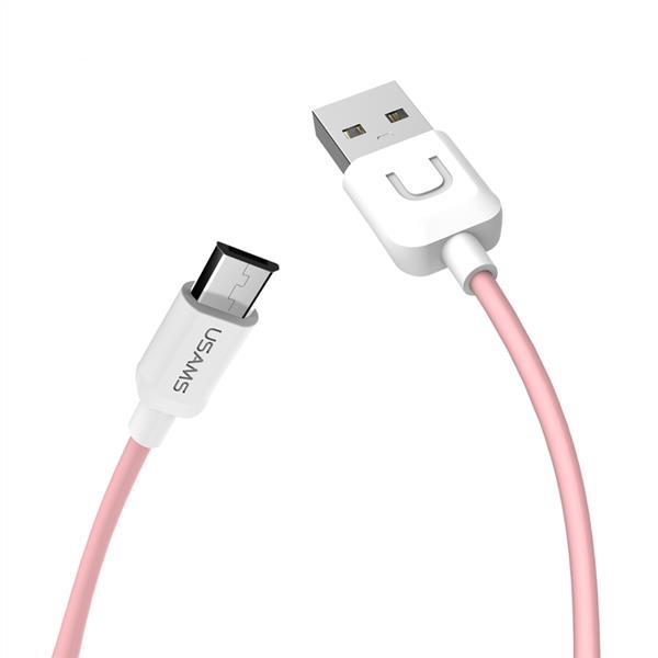 کابل تبدیل USB به microUSB یوسمز مدل US-SJ۰۹۸ طول 1 متر