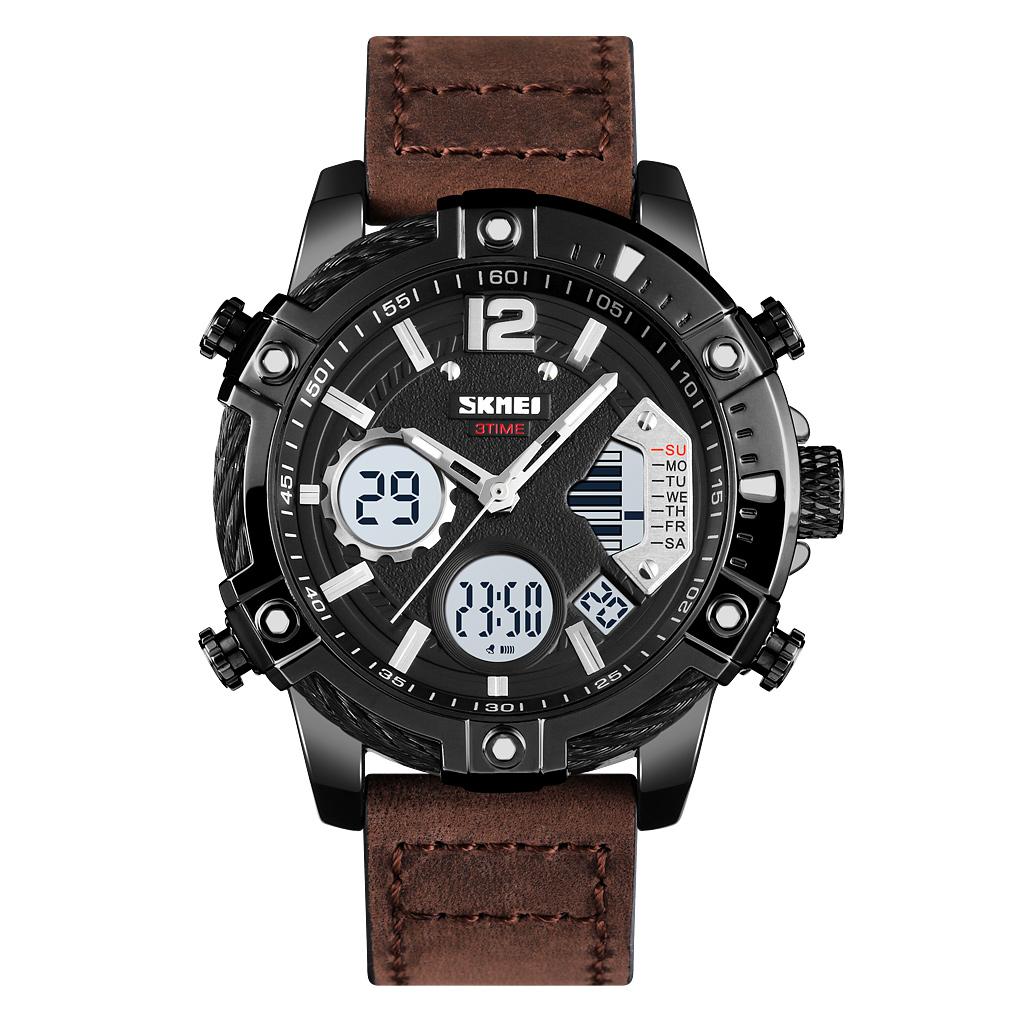 ساعت مچی عقربه ای مردانه اسکمی مدل 1618