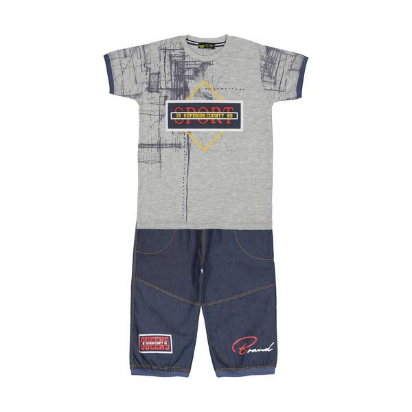 تی شرت پسرانه خرس کوچولو مدل 2011133-93