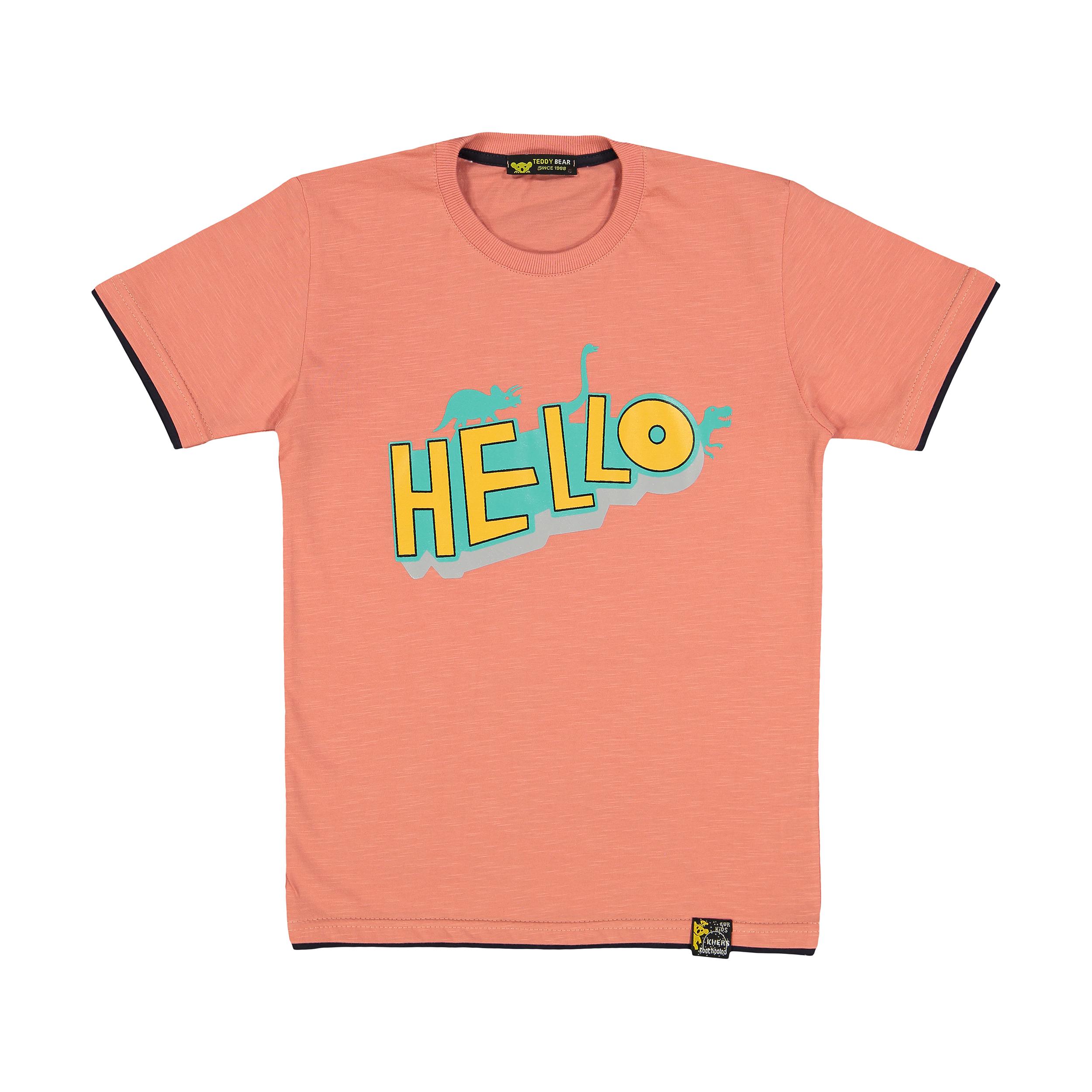 تی شرت پسرانه خرس کوچولو مدل 2011136-86