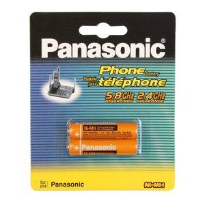 باتری نیم قلمی قابل شارژ پاناسونیک مدل HHR-3MRT-830 بسته 2 عددی