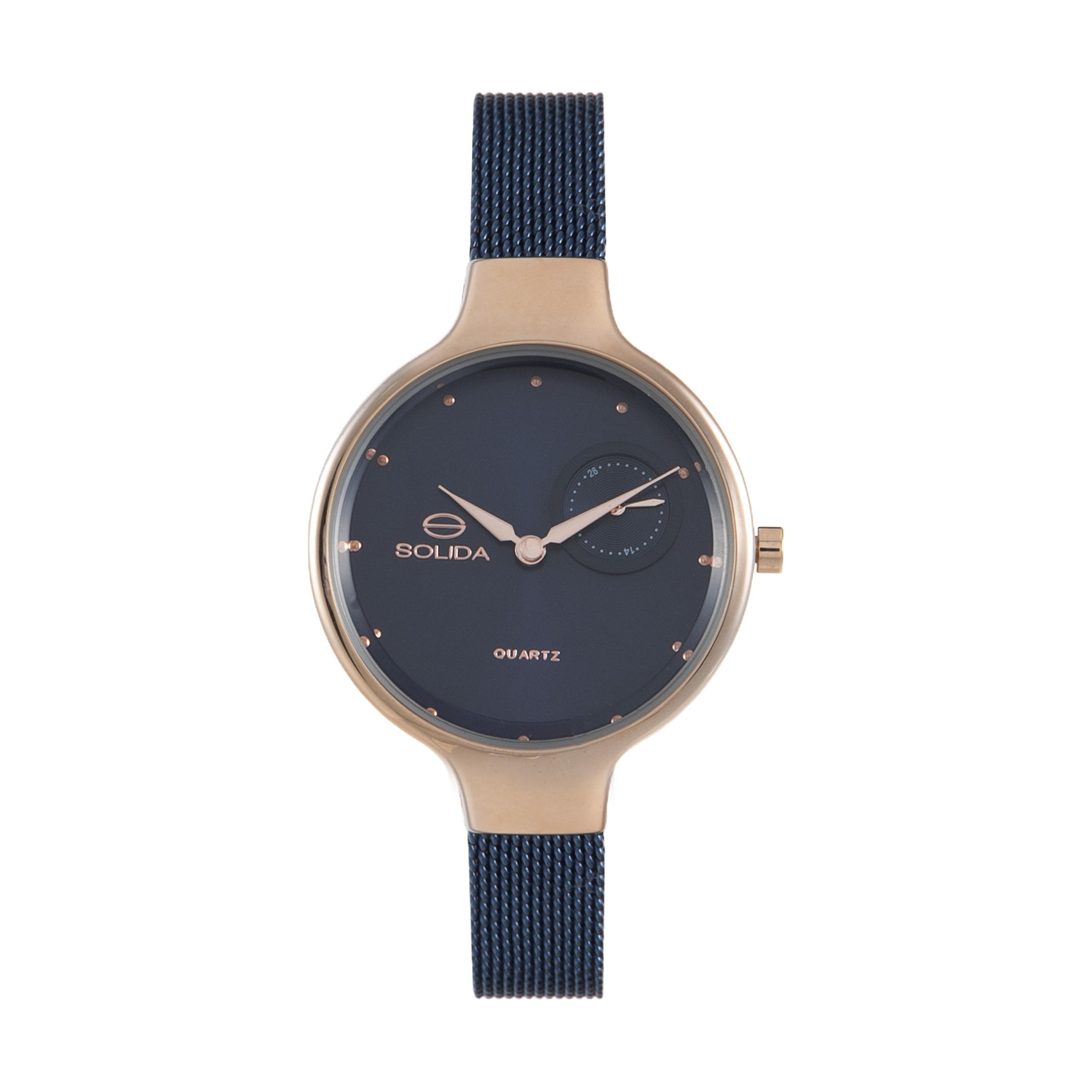 ساعت مچی عقربه ای زنانه سولیدا مدل 01 کد S1131L              ارزان