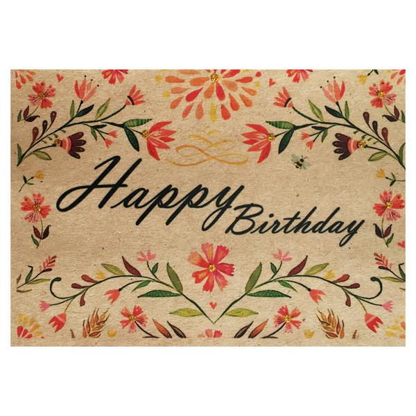 کارت پستال طرح تولد مبارک کد 0056