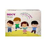 دستکش یک بار مصرف کودک بکر مدل M-430 بسته 100 عددی thumb