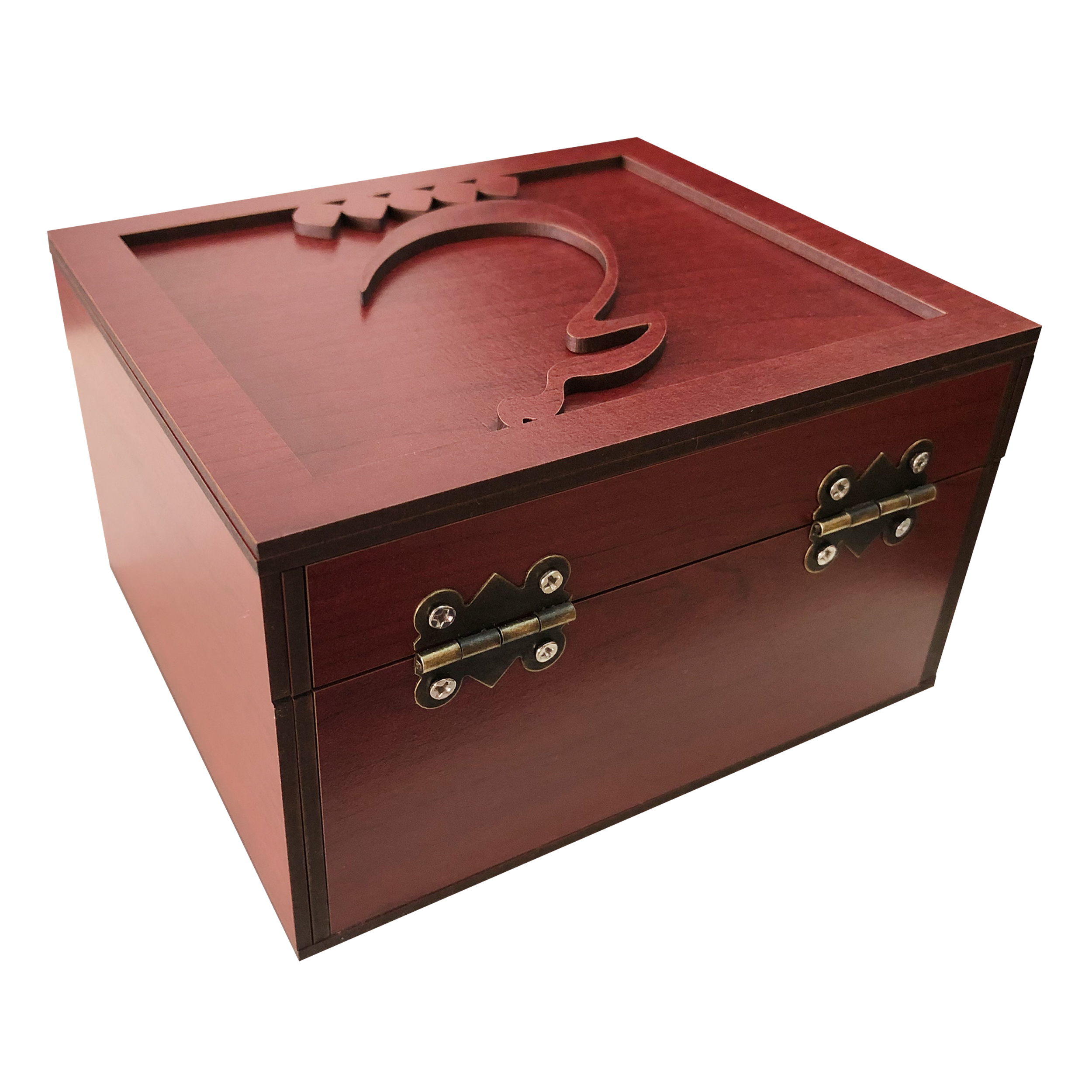 خرید                      جعبه هدیه چوبی مدل j88