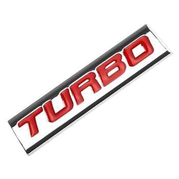 آرم خودرو طرح TURBOred مدل dan081