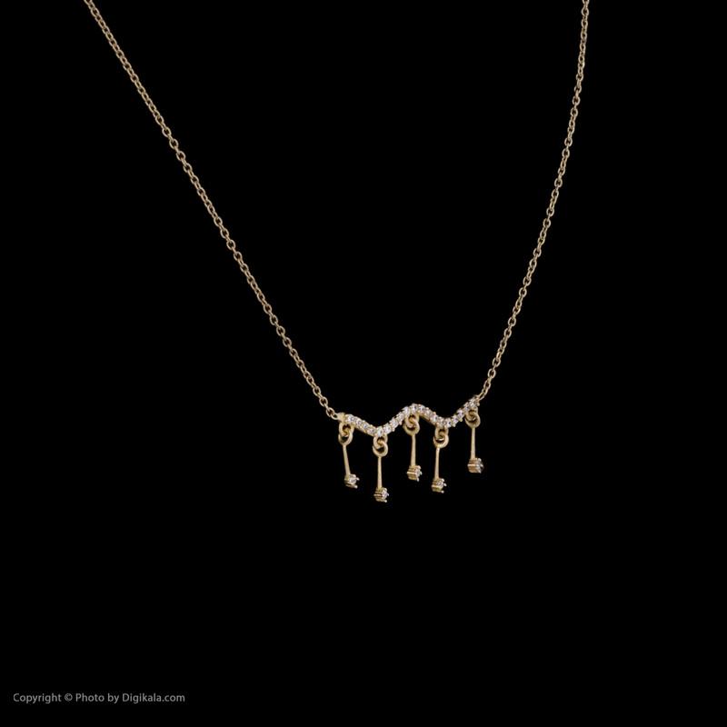 زنجیر طلا 18 عیار زنانه میو گلد مدل GD272