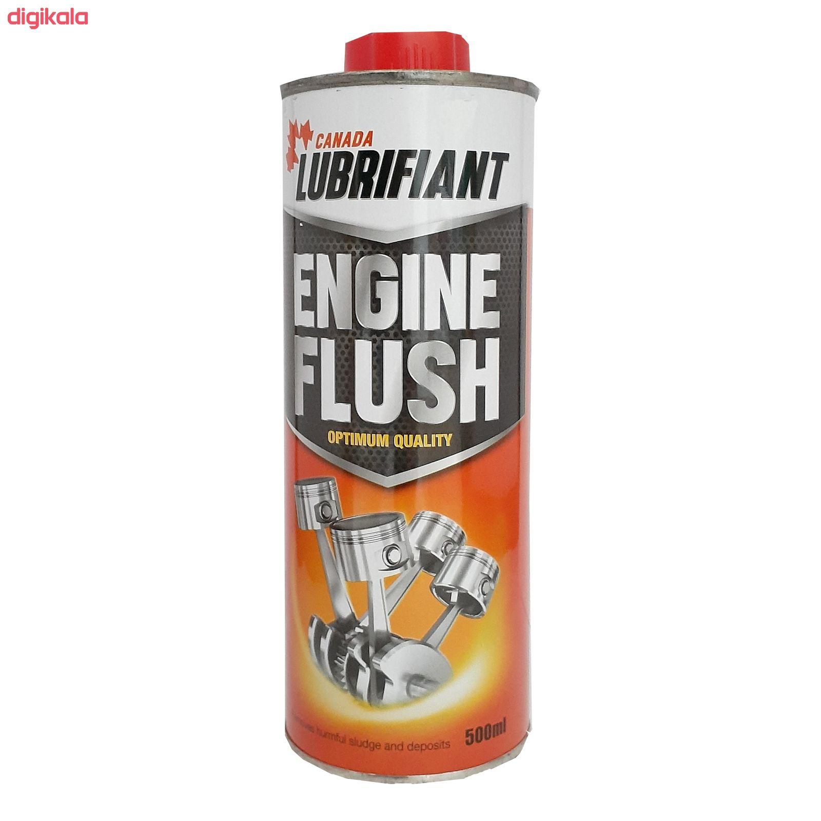 محلول موتور شوی کانادا لوبریفنت مدل Engine Flush حجم 500 میلی لیتر main 1 1
