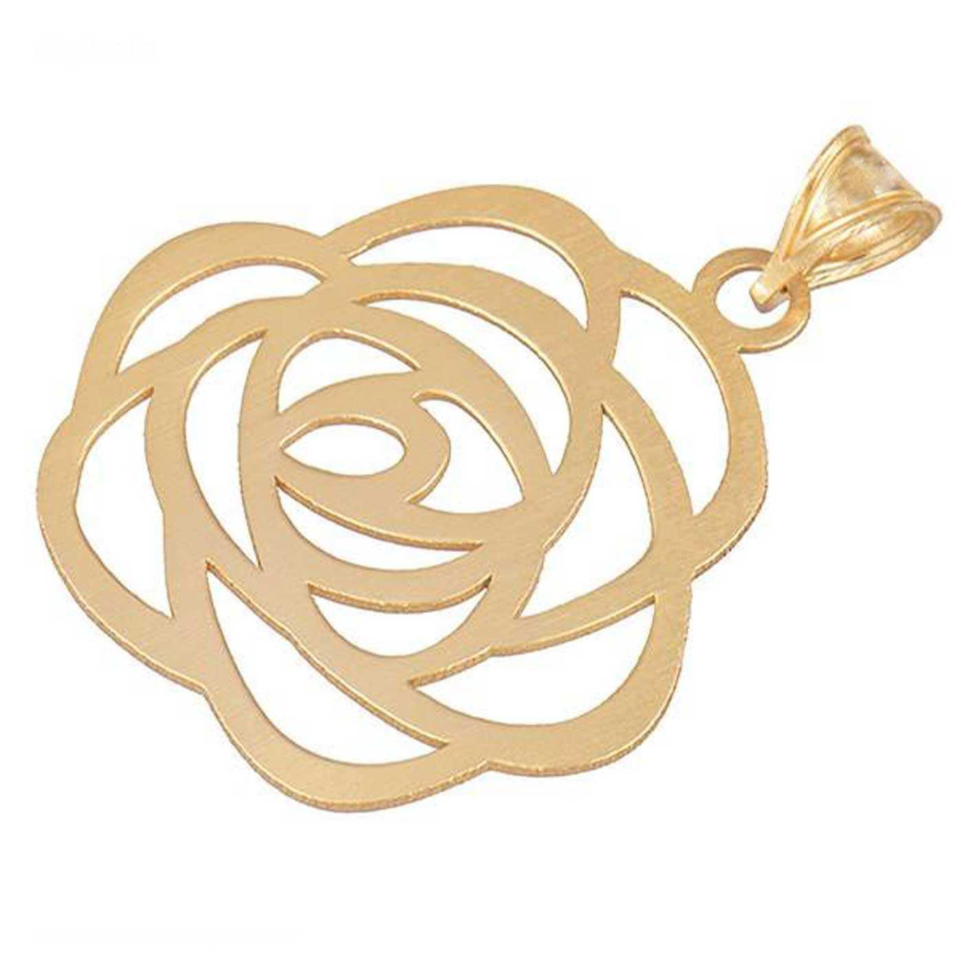 آویز گردنبند طلا 18 عیار زنانه کانیار گالری کد PE27 -  - 2