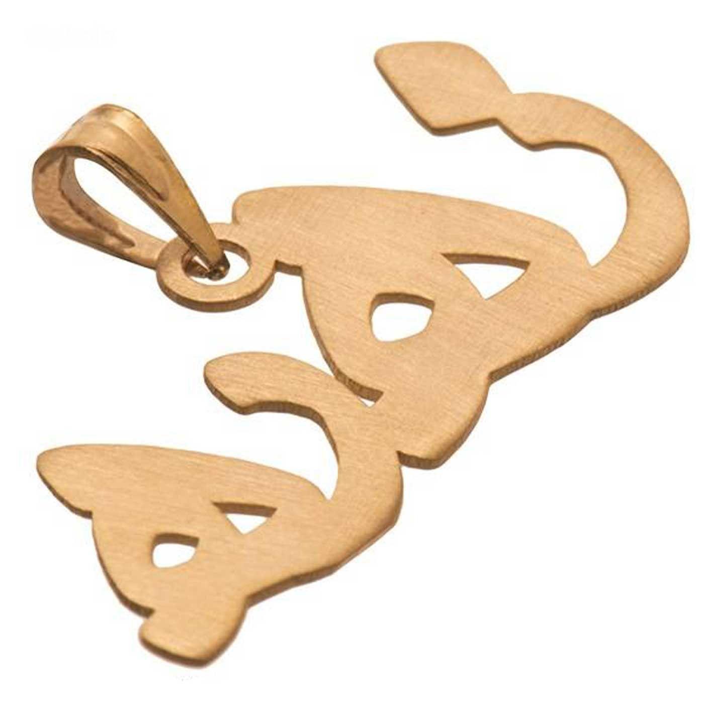 آویز گردنبند طلا 18 عیار زنانه کانیار گالری کد PE32 -  - 2