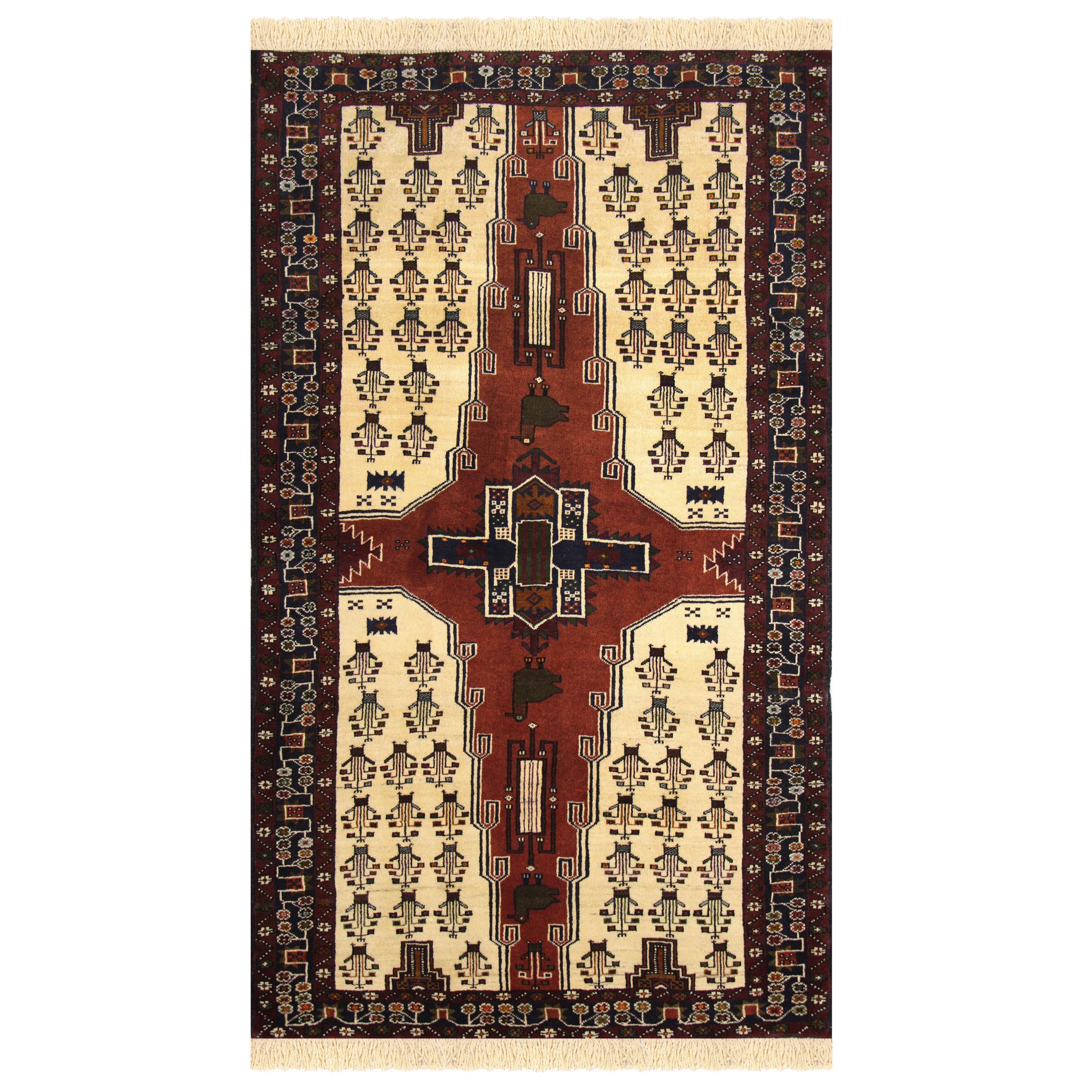 فرش دستبافت یک و نیم متری کد 24572