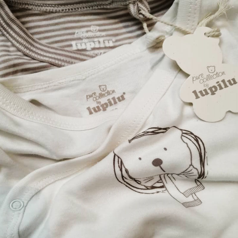 بادی نوزادی لوپیلو کد TD02 مجموعه 2 عددی