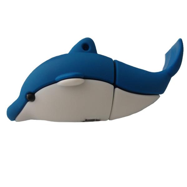 فلش مموری پرلیت یو اس بی طرح دلفین مدل W-62 ظرفیت 128 گیگابایت