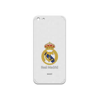 برچسب پوششی ماهوت مدل REAL MADRID Design مناسب برای گوشی موبایل اپل iPhone 5S-SE