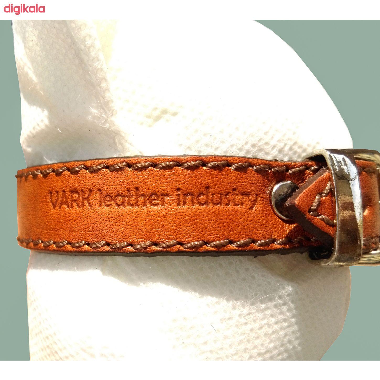 دستبند چرم وارک طرح ماه تولد مهر مدل فرانک کد rb153 main 1 7