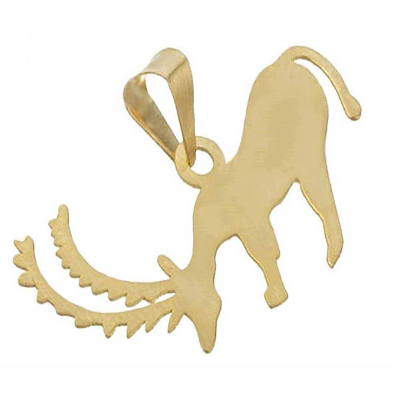 آویز گردنبند طلا 18 عیار زنانه کانیار گالری کد PE47 -  - 2