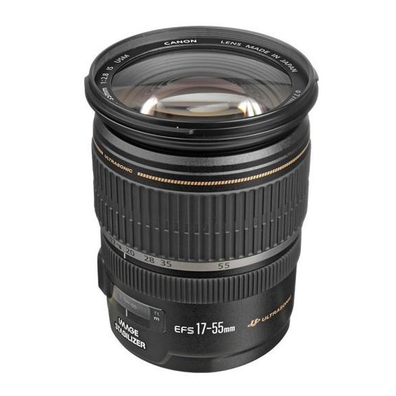 لنز دوربین کانن مدل  EF-S 17-55mm f/2.8 IS USM