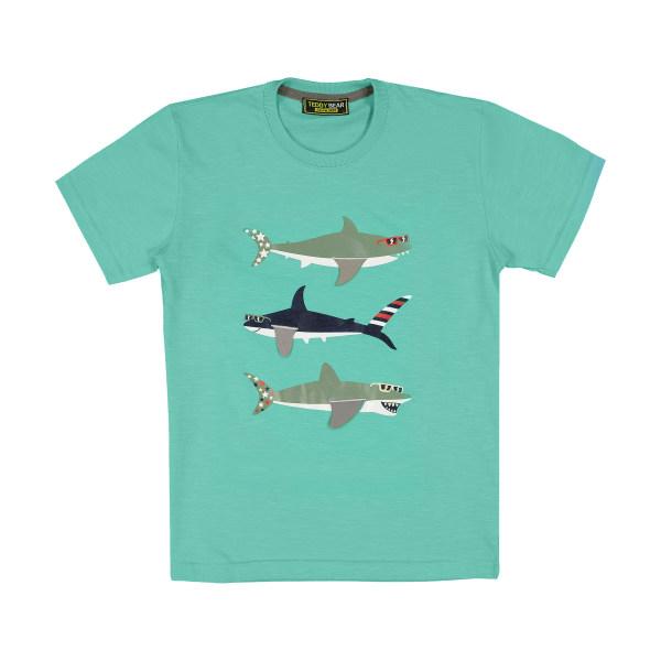 تی شرت پسرانه خرس کوچولو مدل 2011131-53