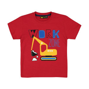 تی شرت پسرانه خرس کوچولو مدل 2011135-72