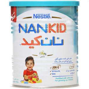 شیر غنی شده نستله سری نان کید با طعم وانیل - 400 گرم