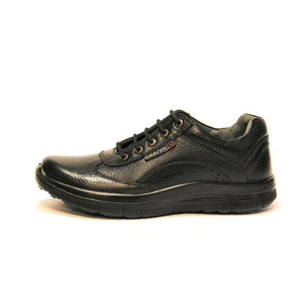 کفش روزمره مردانه فرزین کد ebm004 رنگ مشکی
