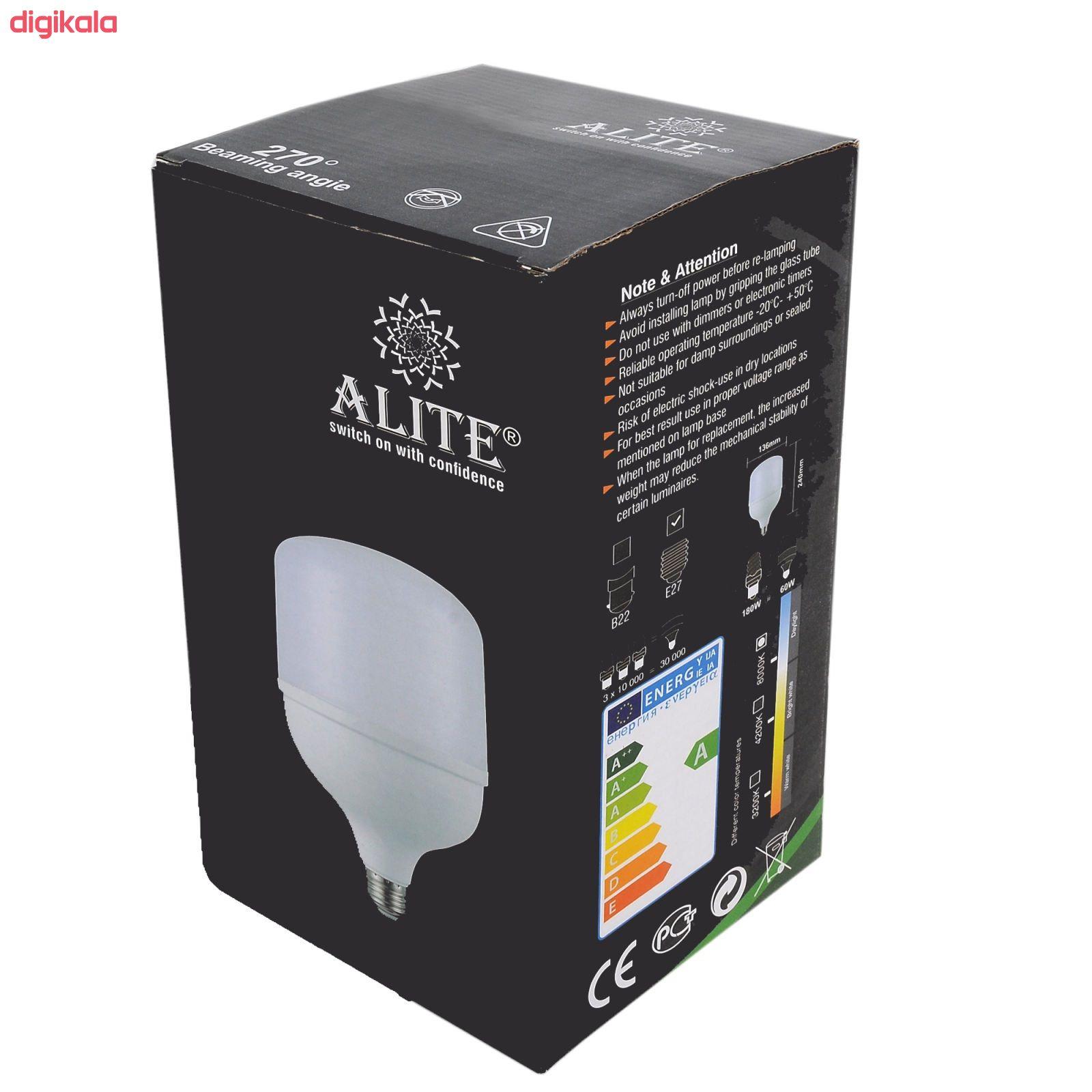 لامپ ال ای دی 40 وات آلیت مدل AL-401 پایه E27 main 1 1