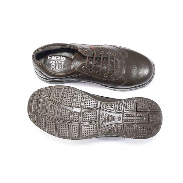 کفش روزمره مردانه فرزین کد ebb005 رنگ قهوه ای -  - 2