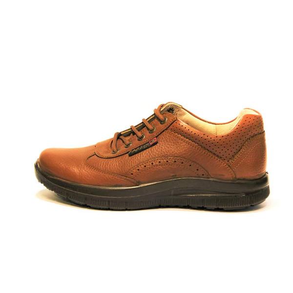 کفش روزمره مردانه فرزین کد ebw006 رنگ قهوه ای