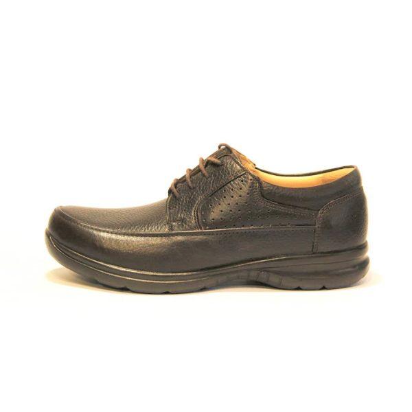 کفش روزمره مردانه فرزین کد gbb008 رنگ قهوه ای
