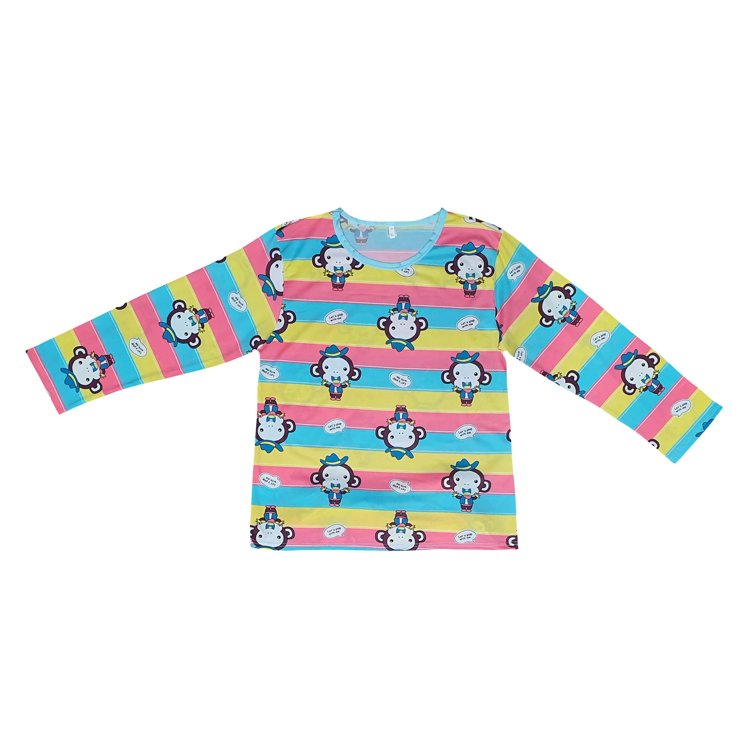 ست تی شرت و شلوار زنانه کد klnqsh- blzpnt.005 main 1 1