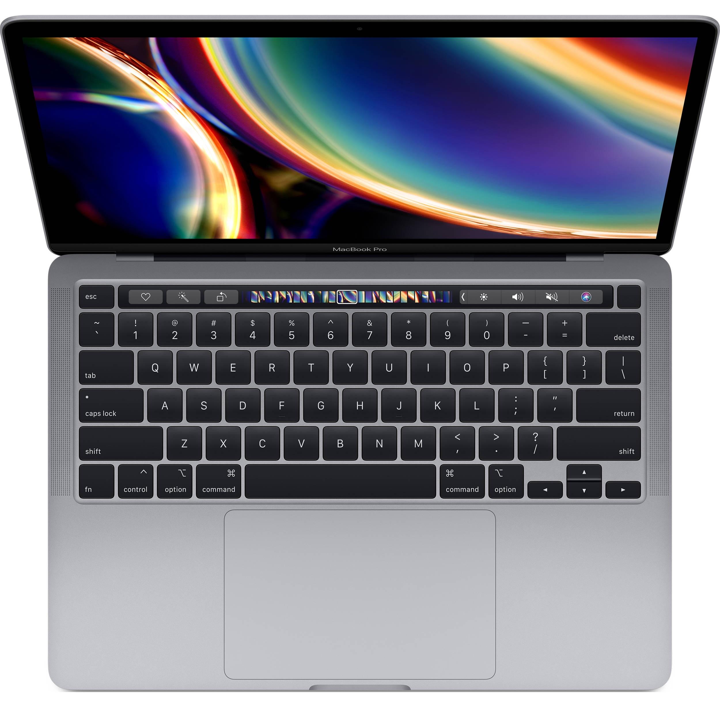 لپ تاپ 13 اینچی اپل مدل MacBook Pro MXK32 2020 همراه با تاچ بار