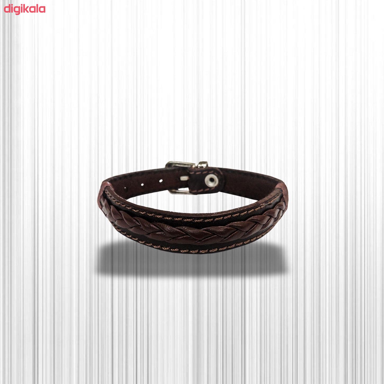 دستبند چرم وارک مدل حامی کد rb155 main 1 10