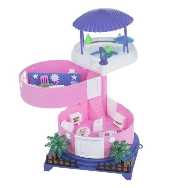 اسباب بازی خانه عروسکی مدل کلبه بهار